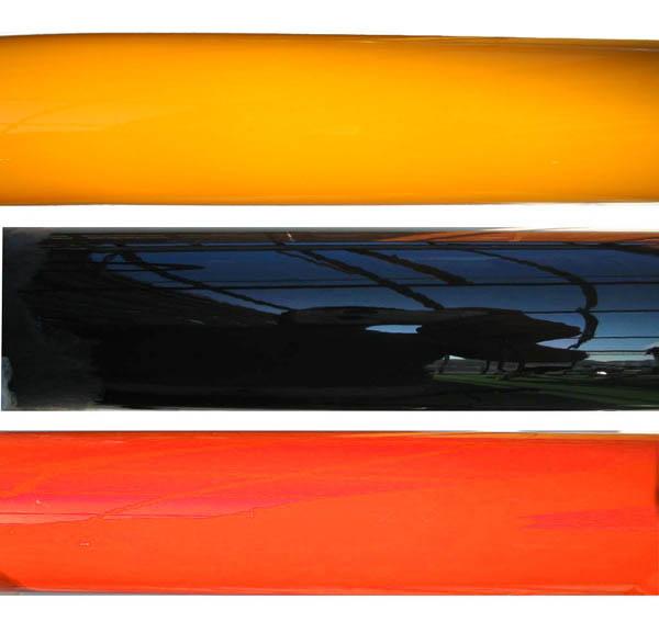 Orange, Yellow or Black powdercoating