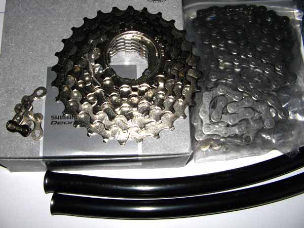Special offer: drive train kit for Sachs/SRAM