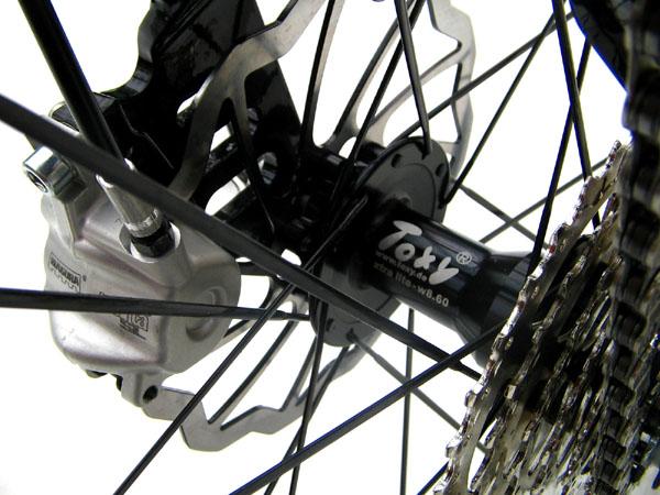 Aero system wheelset Toxy