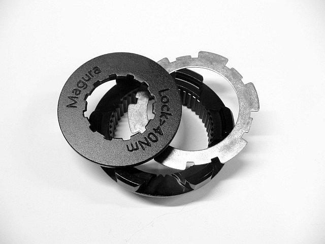 Centerlock Adapter-Set für 6-Loch Bremsscheiben