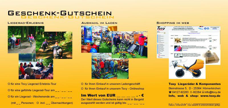 Toxy Geschenk-Gutschein