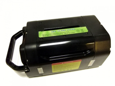 Pedelec / E-Bike battery 36V, 10,4Ah (374Wh) Samsung LiIon cells