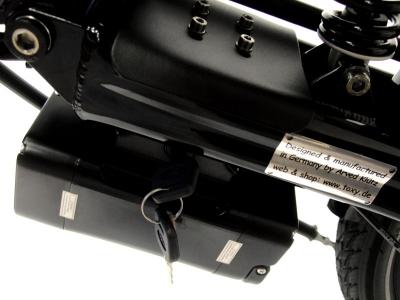 Smart.E Pedelec upgrade system set 250W/36V for recumbent & folding bike