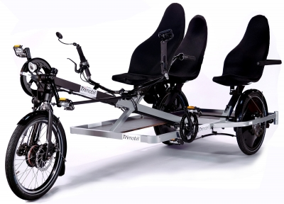 Trimobil Familien- & Lasten-Pedelec Trike, neu
