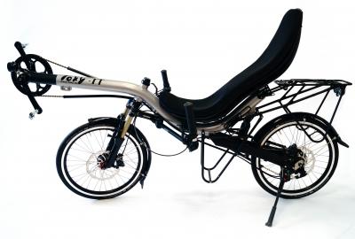 Messemodell Toxy-TT Rohloff Reise-Liegerad, neu
