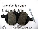 Brake pads Julie