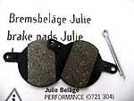 Bremsbeläge Julie
