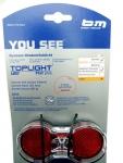 b&m D Toplight Flat plus LED Rückstrahler