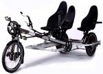 Hase Kettwiesel Trike Klimax 5K, 45km/h S-Pedelec mit Faltverdeck